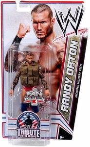 Mattel WWE Wrestling Exclusive Tribute To The Troops Action Figure Randy Orton [Brown Vest]