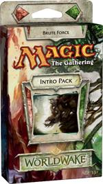 Magic the Gathering Worldwake Theme Deck Intro Pack Brute Force Loose or Sealed!