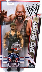 Mattel WWE Wrestling Exclusive Tribute To The Troops Action Figure Big Show