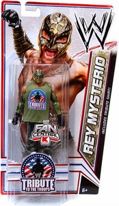 Mattel WWE Wrestling Exclusive Tribute To The Troops Action Figure Rey Mysterio