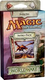 Magic the Gathering Worldwake Theme Deck Intro Pack Rapid Fire Loose or Sealed!