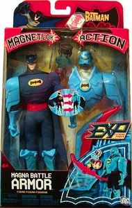The Batman EXP Extreme Power Magnet Lok Action Figure Magna Battle Armor Batman