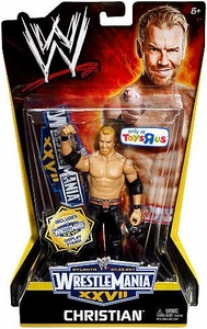 Mattel WWE Wrestling Exclusive WrestleMania 27 Action Figure Christian