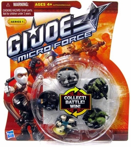 GI Joe Micro Force Series 1 Starter Set [Contains 5 RANDOM Figures] BLOWOUT SALE!