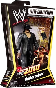 Mattel WWE Wrestling Elite Best of 2010 Action Figure Undertaker BLOWOUT SALE!
