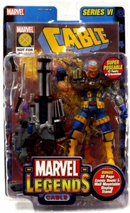 Marvel Legends Series 6 Action Figure Cable