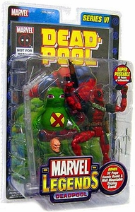 Marvel Legends Series 6 Action Figure Deadpool with Doop
