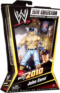 Mattel WWE Wrestling Elite Best of 2010 Action Figure John Cena