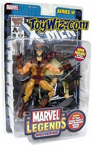 Marvel Legends Series 6 Action Figure Brown Costume Wolverine