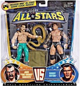 Mattel WWE Wrestling Exclusive All Stars Action Figure 2-Pack Jake