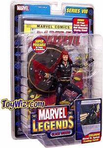 Marvel Legends Series 8 Action Figure Black Widow