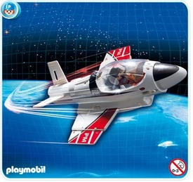 Playmobil Transport Set #4342 Carry Along Jet