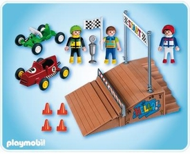 Playmobil Transport Set #4141 Go-Cart Race Compact Set