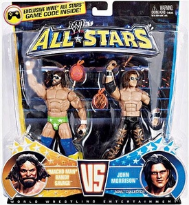 Mattel WWE Wrestling Exclusive All Stars Action Figure 2-Pack Macho Man Randy Savage Vs. John Morrison