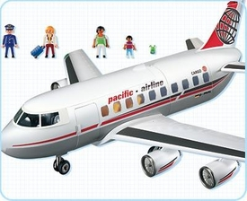 Playmobil Transport Set #4310 Jet Plane