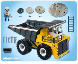Playmobil Transport Set #4037 Heavy Duty Dump Truck
