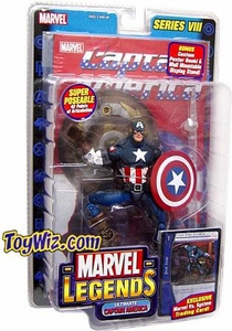 Marvel Legends Series 8 Action Figure Ultimate Captain America
