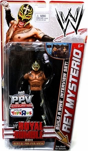 Mattel WWE Wrestling Exclusive Best Of PPV Royal Rumble 2011 Action Figure Rey Mysterio