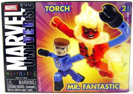 Marvel MiniMates Series 8 Mr. Fantastic & Human Torch