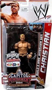 Mattel WWE Wrestling Exclusive Best Of PPV Capital Punishment 2011 Action Figure Christian