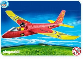 Playmobil Transport Set #4214 Hand-Launch Glider