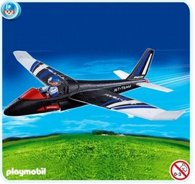 Playmobil Transport Set #4215 Hand-Launch Glider