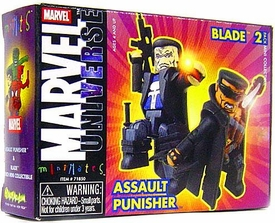 Marvel MiniMates Series 9 Blade & Assault Punisher