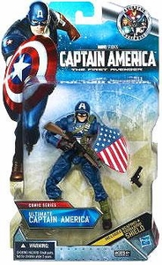 Captain America Comic Exclusive 6 Inch Action Figure Ultimate Captain America