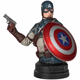 Captain America Movie SDCC 2011 San Diego Comic-Con Exclusive Bust Captain America Only 1,000 Made!