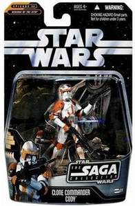 Star Wars Saga 2006 Basic Action Figure #24 Clone Commander Cody