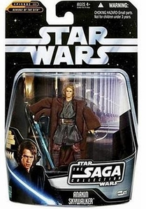 Star Wars Saga 2006 Basic Action Figure #25 Anakin Skywalker