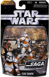 Star Wars Saga 2006 Basic Action Figure #26 Clone Trooper [Utapau]