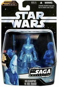 Star Wars Saga 2006 Basic Action Figure #27 Ki Adi Mundi [Hologram]
