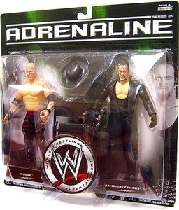 WWE Wrestling Adrenaline Series 24 Action Figure 2-Pack Kane & Undertaker