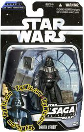 Star Wars Saga 2006 Basic Action Figure #38 Darth Vader [Bespin]