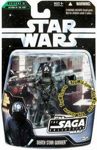 Star Wars Saga 2006 Basic Action Figure #41 Death Star Gunner