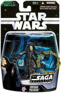 Star Wars Saga 2006 Basic Action Figure #43 Emperor Palpatine