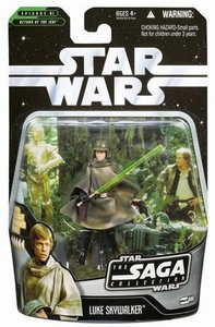 Star Wars Saga 2006 Basic Action Figure #44 Luke Skywalker [Endor]