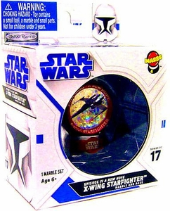 Marbs Collectibles Marbles Series 2 Episode IV A New Hope #17 X-Wing Starfighter