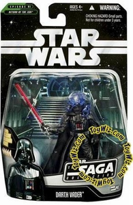 Star Wars Saga 2006 Basic Action Figure #45 Darth Vader [Final Battle]