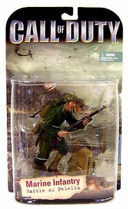 McFarlane Toys Call of Duty Action Figure Marine Infantry [Battle of Peleliu] Black Rifle