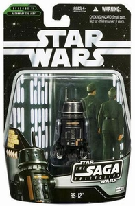 Star Wars Saga 2006 Basic Action Figure #58 R5-J2 (Imperial Astromech Droid)