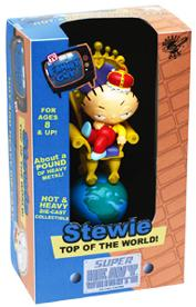 Family Guy Rocket USA Super Heavy Weight Top of the World Stewie