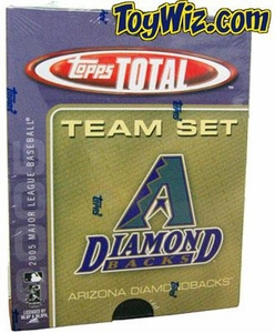 2005 Topps Total Arizona Diamondbacks Baseball Card Team Set
