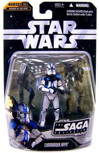 Star Wars Saga 2006 Basic Action Figure #64 Commander Appo