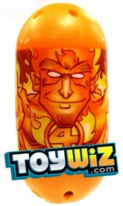 Mighty Beanz Marvel Common Single Bean #18 Human Torch