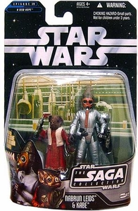 Star Wars Saga 2006 Basic Action Figure #72 Nabrun Leids & Kade