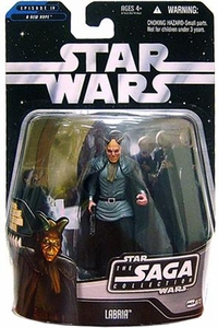 Star Wars Saga 2006 Basic Action Figure #73 Labria