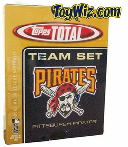 2005 Topps Total Pittsburgh Pirates Baseball Card Team Set