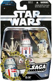 Star Wars Saga 2006 Basic Action Figure #32 R5-D4